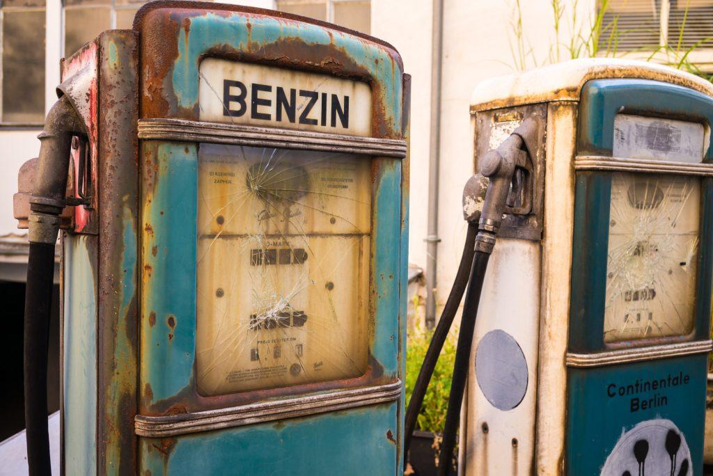 Die verlassene Tankstelle von Kreuzberg