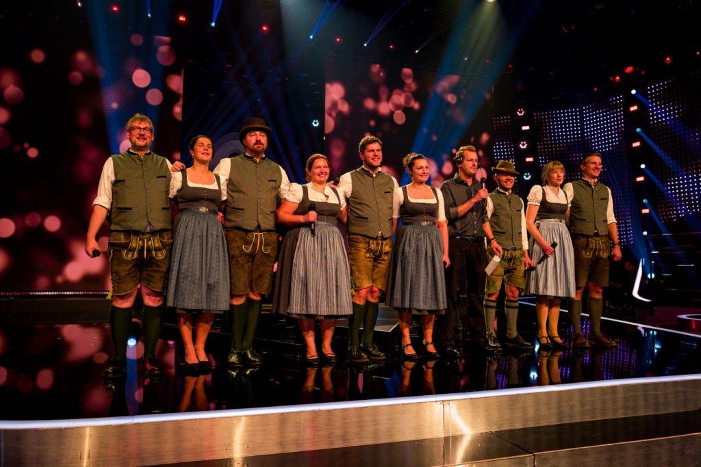 """A-Capella-Ensemble chaingang im ORF-Halbfinale der Casting-Show """"Die große Chance der Chöre"""""""