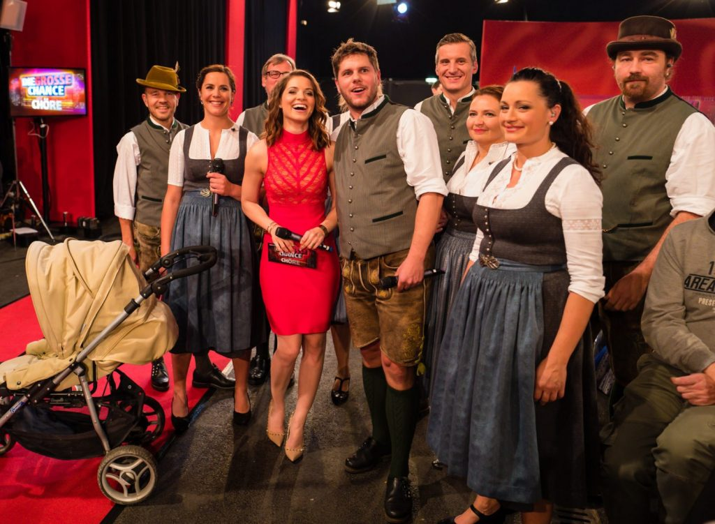 A-Capella-Ensemble chaingang im ORF-Halbfinale