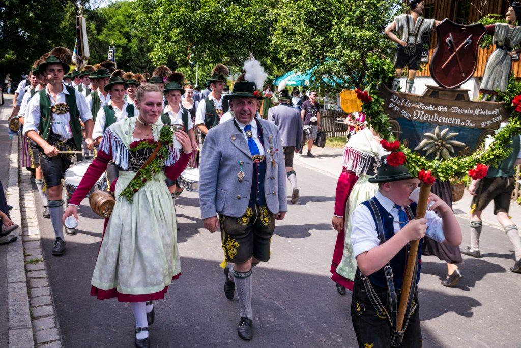 Inngau-Trachtenfest in Rohrdorf