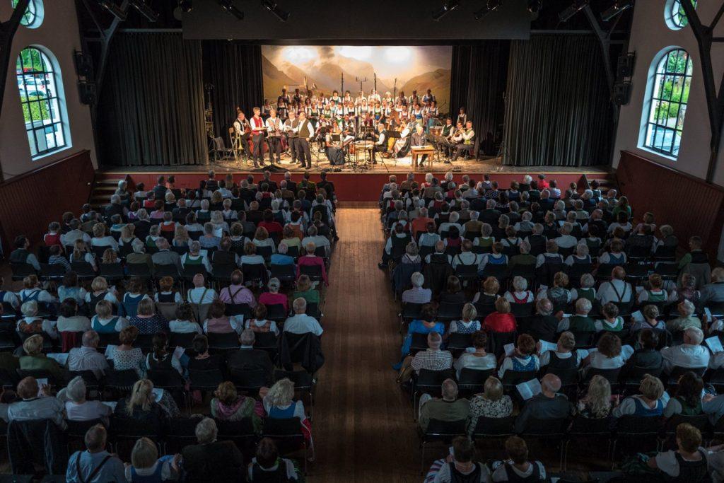 Jubiläumskonzert zu Ehren des Müllner Peter von Sachrang (23. Juli 2016)