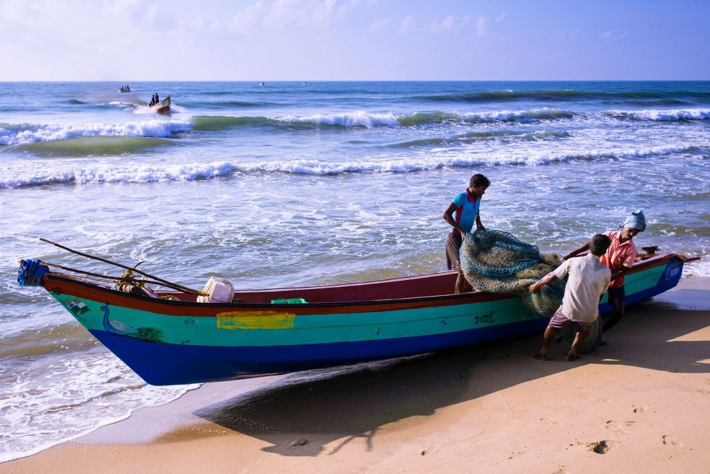Fischerei in Indien noch heute