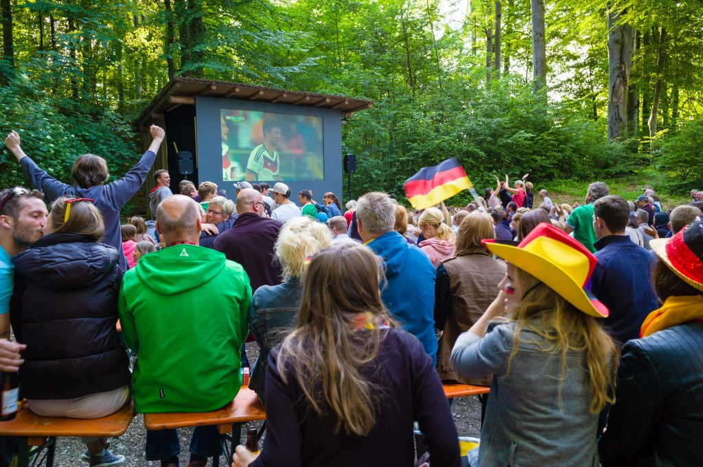 Public Viewing am Samerberg