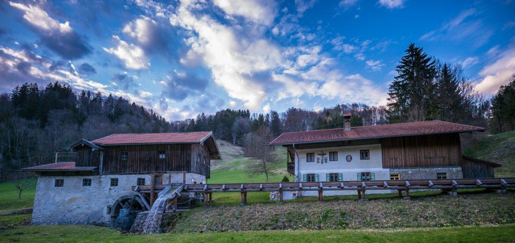 Mühle im Mühltal bei Nußdorf am Inn