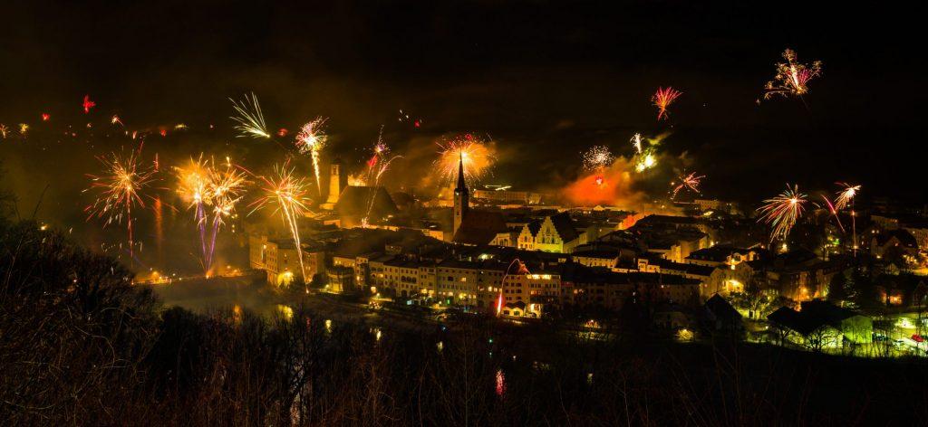 Silvester in Wasserburg